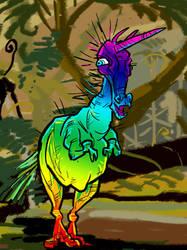 Unisaurus Rex by mutleyjames