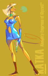 Katka - Mighty Empress by mutleyjames