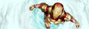 Iron Man MK XLII by Giando1611990
