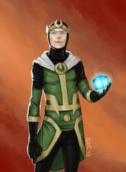 Young Loki by Giando1611990