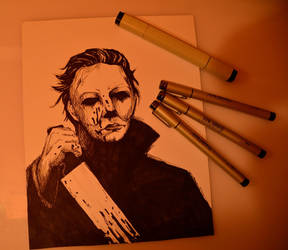Halloween - Michael Myers by AkaiYuyake