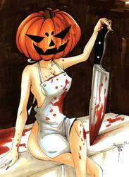 Halloween Special - Pumpkin Butcher by AkaiYuyake