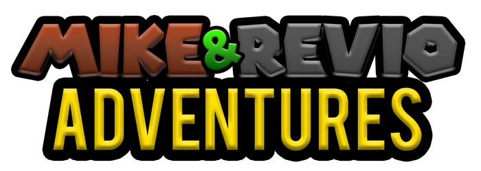 Mike and Revio Adventures Logo by pm58790