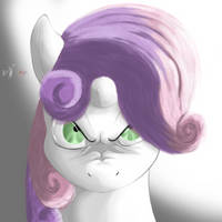The Sweetie stare - Angry Series by Hosendamaru