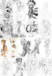 Sketch Dump 2 by SiruBoom