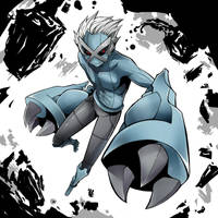 Gijinka: Metagross by SiruBoom