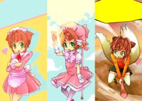 Sakura Kinomoto by SiruBoom