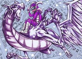 Dragon de estalactitas by SiruBoom