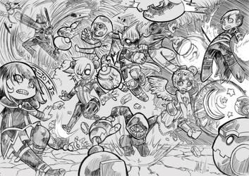 Siru batalla chibi by SiruBoom