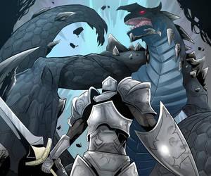 Dragon de Obsidiana by SiruBoom