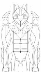 Cyber Monday Cyborg by Spidernator9