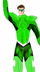 Hal Jordan as Parallax sketch by Spidernator9