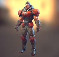 R.E.D. Guard 3 by MarcBrunet