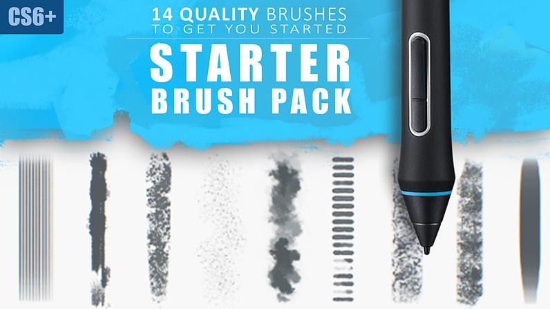FREE Brush Set by MarcBrunet