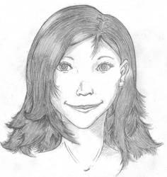Realism: Maria's portrait by drawerkid