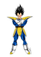 Vegeta Prince of Saiyans by CloudXtrife