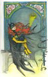 Barbara Gordon, Batgirl by artiste-reveur