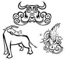 Taurus tattoos by blinkythemouse