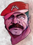 Mario has seen some shi-stuff by ZachSatherArt