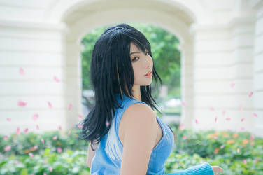 Final Fantasy VIII : Rinoa Heartilly by thebakasaru