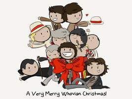 Whovian Christmas by gnasler