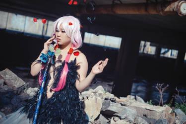 Guilty Crown-Songstress by AkabaraYashiki