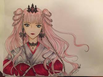 Ningyou Kyuutei Gakudan- Queen Gemsilica by AkabaraYashiki