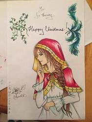 Christmas Card - Christmas Spirit by AkabaraYashiki