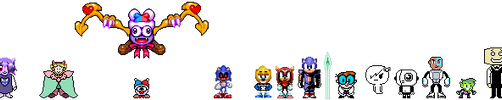 FR05TA113!CrossoverTale Characters by Fr05tA113