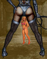 Domme's Captive Lucy by Chickfighter