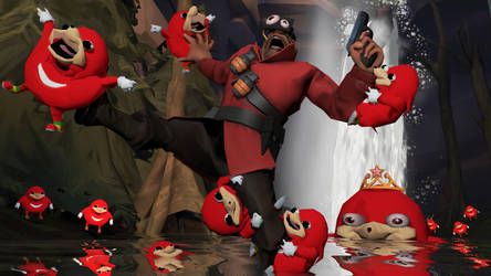 GMOD: Ugandan Knuckles tribe attacks VRChat by happy-heavy