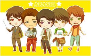 Daisuki na ARASHI by hikaruhan
