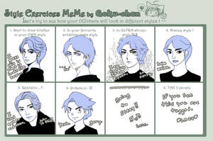 style exercise meme by hikaruhan