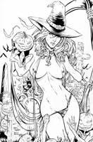 Lady Death - M.Debalfo - Travinapple - Inked by Travinapple