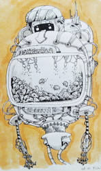 Fish Tank number 2 by viruceae