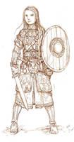 Trudvang character by kickfoot