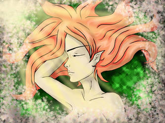 Sleeping Elf by kotakotoka