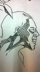 friday practice faces (pen) by 1masterchef