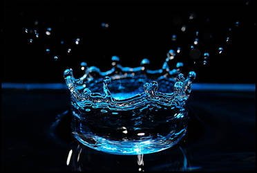 Blue Crown by Chareen
