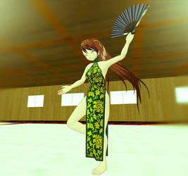 Monika's Fan Dance by Ruz18
