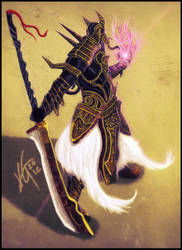 Kasayledin  Judicator of the Void by KxG-WitcheR