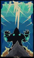 Volibear Retro Poster by KxG-WitcheR