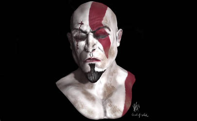 Kratos God Of War Sculpt Mudbox by KxG-WitcheR