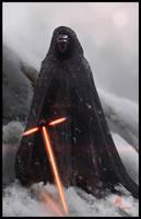 Kylo Ren - Star Wars by KxG-WitcheR