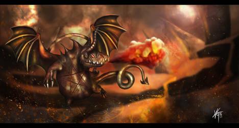 HellFire Skaarf Vainglory (fanart) by KxG-WitcheR