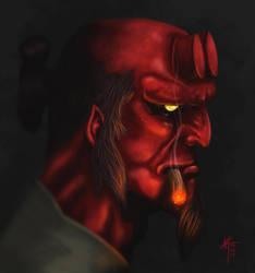 Hellboy by KxG-WitcheR