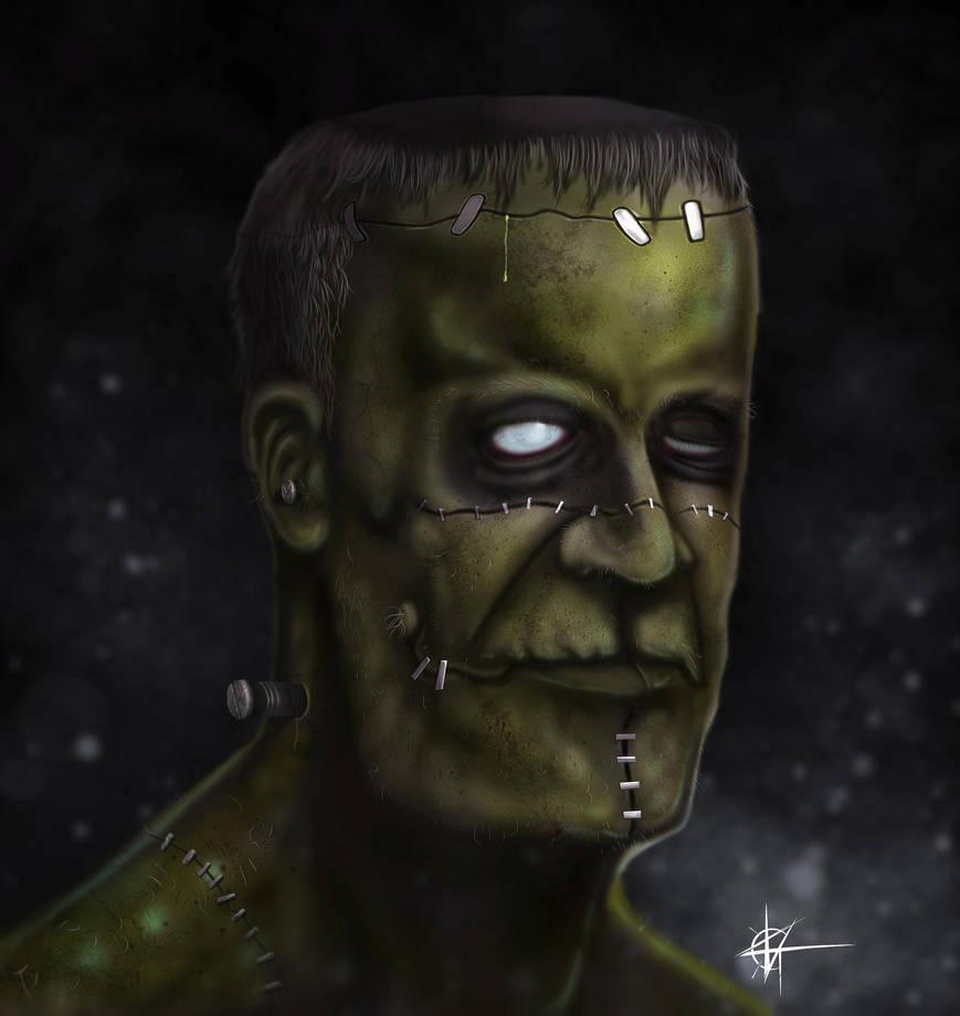 Frankenstein by KxG-WitcheR