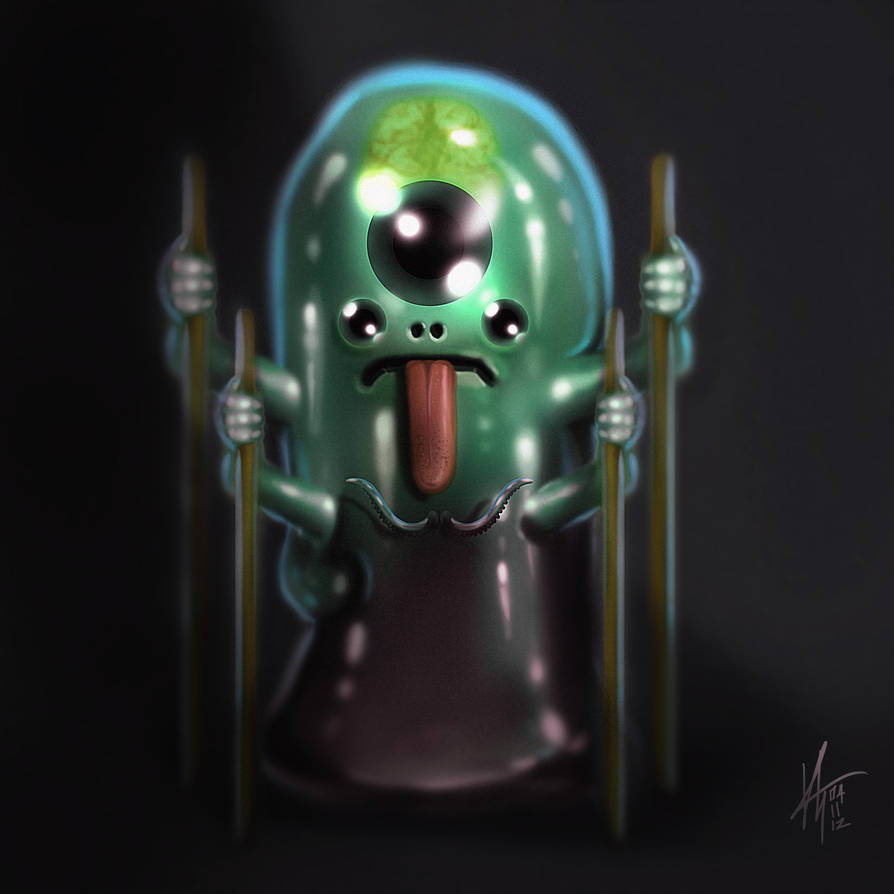 Mr Blobs! by KxG-WitcheR