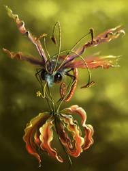 Butterflower by Morgainelefee
