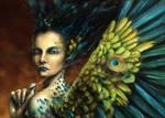 Winged Vanity by Morgainelefee